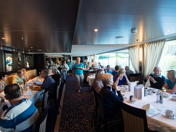 Ship dining room