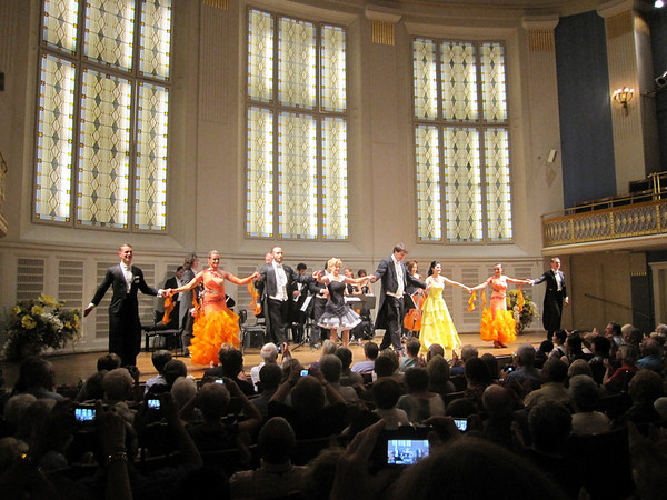Classical music concert in Vienna