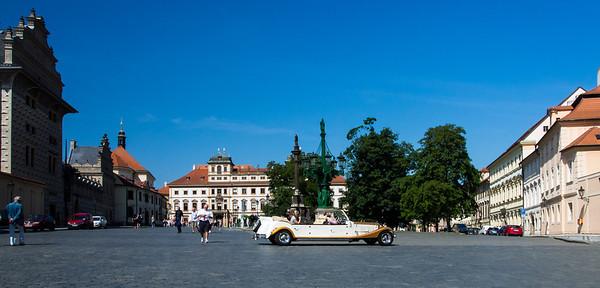 Square in Prague