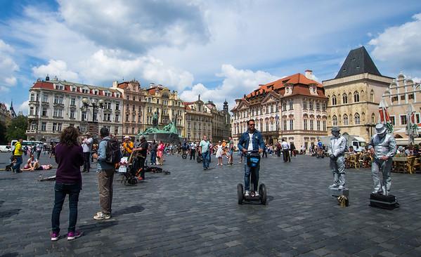 City square in Prague