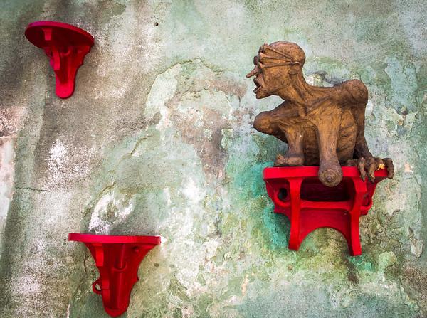 Local Art--Cesky Krumlov