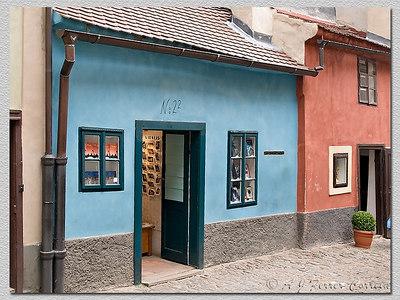 Imagem Kafkiana (Zlatá ulička) A Kafkian image