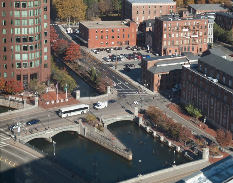Canal intersecrion  from 19th fl of One Financial Plaza