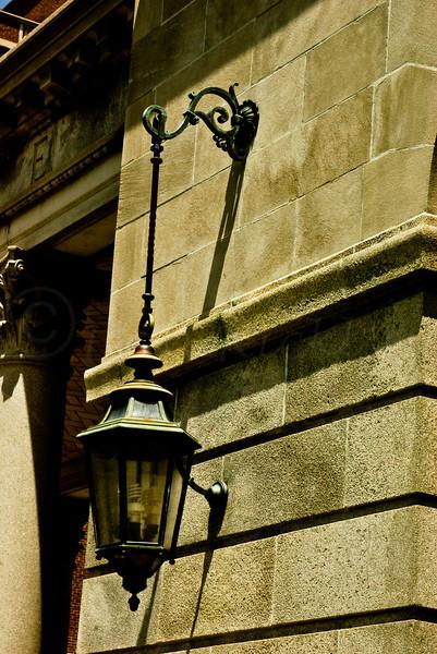 Lantern on old Court House.