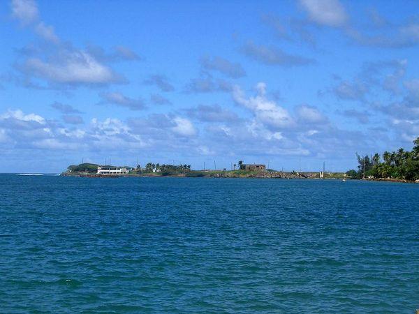 The Atlantic opposite San Juan Harbor