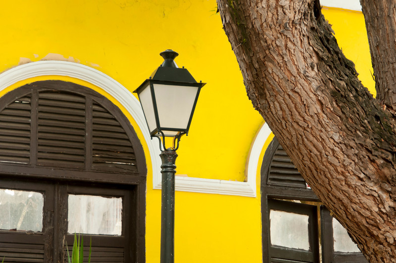 Street Scene Detail San Juan Puerto Rico