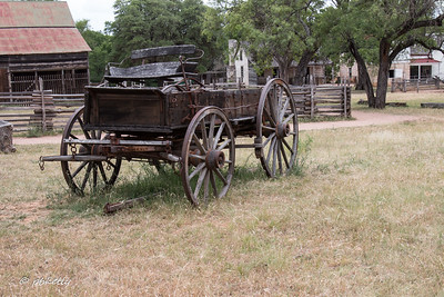 My Grandfather had an old wagon like this one.