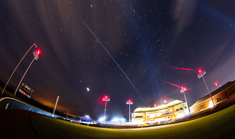 ISS over Bittinger Stadium
