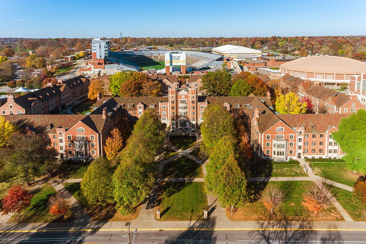 Cary Quadrangle at Purdue University