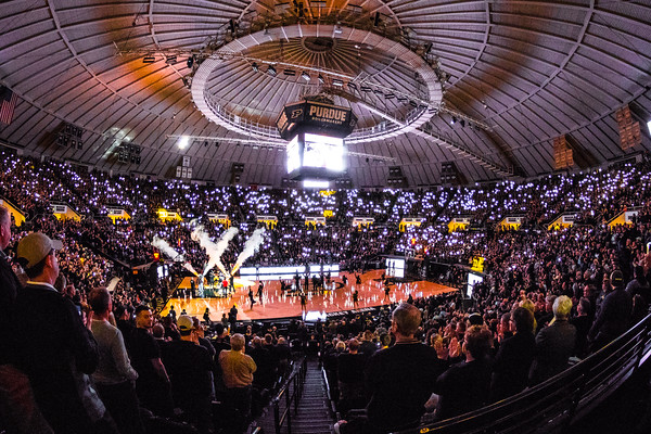 Mackey Arena Light Show