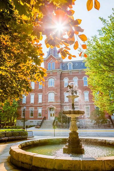 University Hall Sunburst