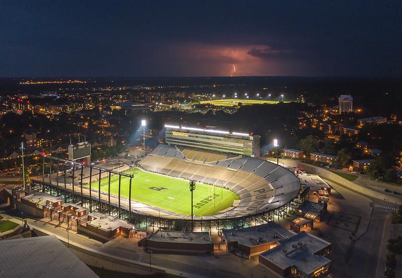 Ross Ade Stadium Lightning