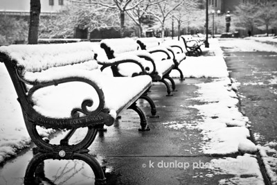 """12.29.12 = City Snow  """"The color of springtime is in the flowers; the color of winter is in the imagination.""""  Terri Guillemets"""