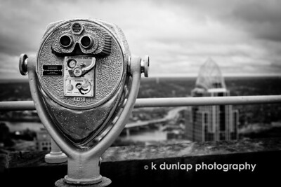 """11.21.11 = Observation Deck  """"The higher you go the broader your perspective, but you lose sight of all the little details.""""  Kristan Dunlap"""
