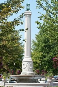 John F. Dillon monument - LeClaire Park, Davenport, Iowa