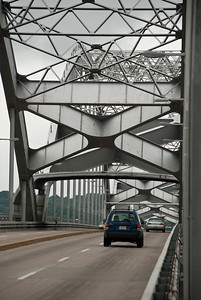 The first vehicle to pay a toll to cross the Centennial Bridge was owned by Dohrn Transfer, a company local to Rock Island. When the tolls were removed, the last vehicle to have to pay a toll to cross the bridge was again owned by Dohrn Transfer.