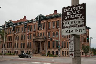 Modern Woodmen Building/Rock Island County Administration Building (1898) - Rock Island, Illinois.