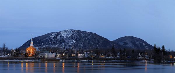 Mont Saint-Hillaire.  March 2012.