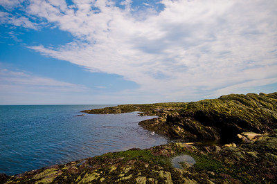Rock, Sky, and Sea