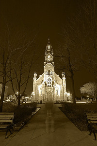 Ghost to Church - Part I.  March 2012.  Beloeuil, Québec.