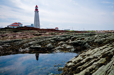 Lighthouses are supposed to warn ships off the rocks... I guess they mean THESE rocks