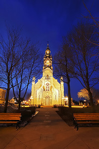 Ghost to Church - Part II.  March 21012.  Beloeuil, Québec.