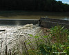 8-29-11<br /> Quechee Gorge Dam the day after hurricane Irene came through new england