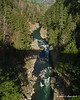 11-22-11<br /> Quechee Gorge looking up stream from the bridge