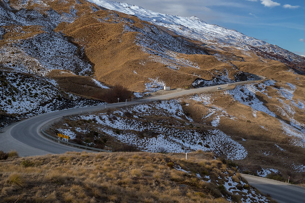 Road to Coronet Peak, Queenstown, 2015