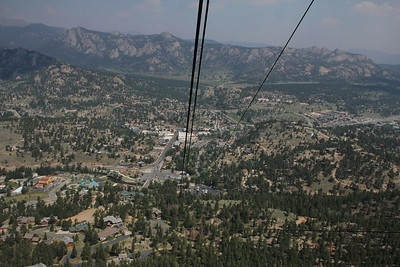 Estes Park from Prospect Mountain