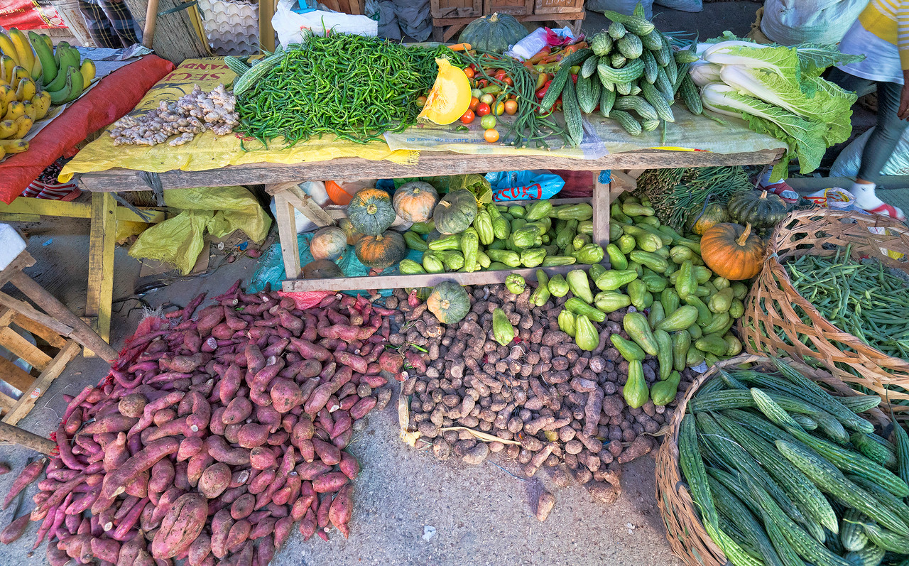 Market in Argao