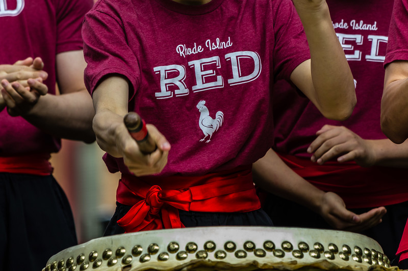 Rhode Island Red Drummer