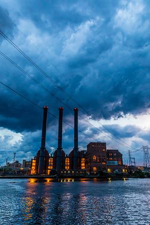 Stormy Sky in Providence, RI