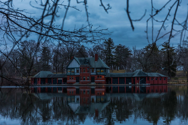 Dalrymple Boathouse at Roger Williams Park
