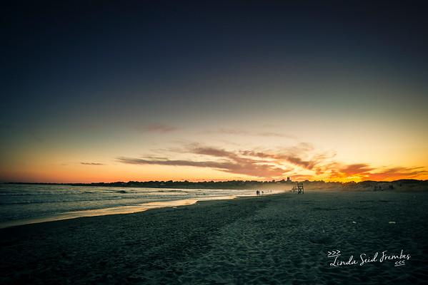 Sunset on Second Beach, Newport/Middletown