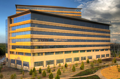 The new Blue Cross Blue Shield facility in Richardson, TX.