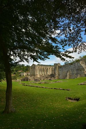 Rivelaux Abbey, North Yorkshire