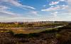Near Rio Grande Village, Big Bend National Park, Texas.<br /> <br /> Looking accross Rio Grande to Boquillas del Carmen, Coahuilla, Mexico.