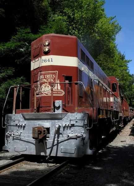 Train to Santa Cruz from Roaring Camp - Felton, CA