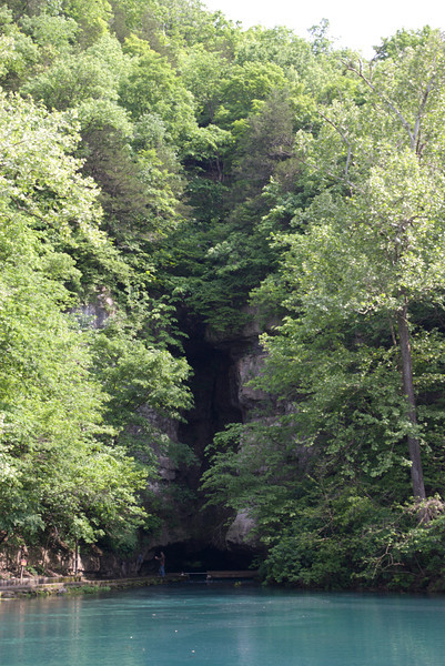Roaring River Spring head.