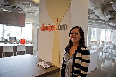 Once in Seattle, we decided to visit the HQ for AllRecipes.com, one of Ariana's favorites, while we waited for our sea plane.