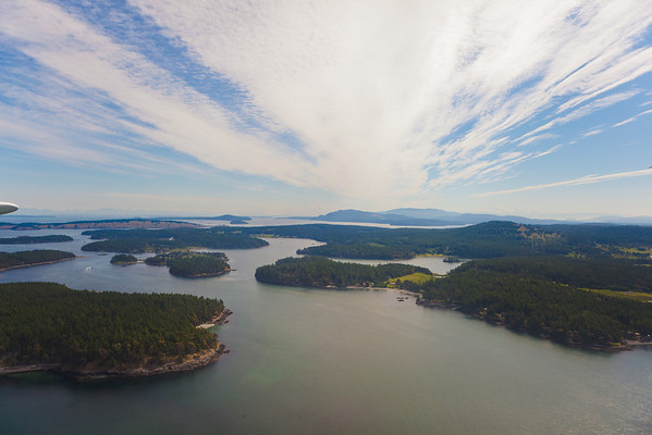 Our destination: the San Juan Islands.