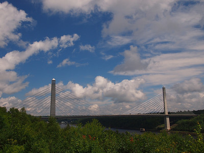 Bridge to the Island of Verona.