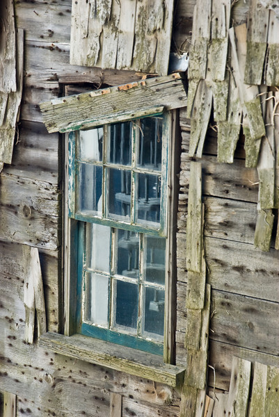 Old Shack Window