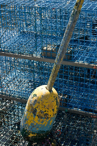 Lobster Pot and Bouy