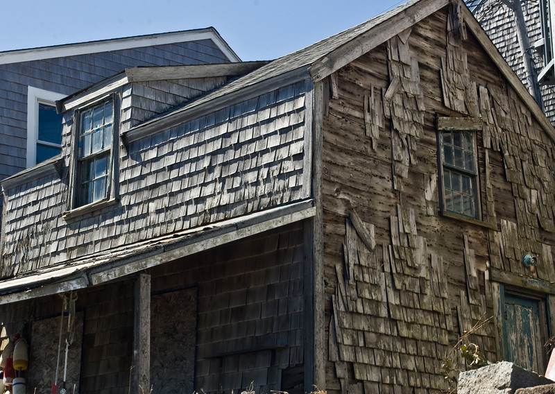 Waterfront Shack, Bearneck Point, Rockport, MA