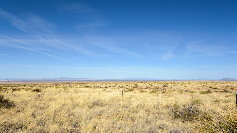Looking W/NW from hwy 78, across the flat country a few miles north of Lordsburg. Big Sky country.