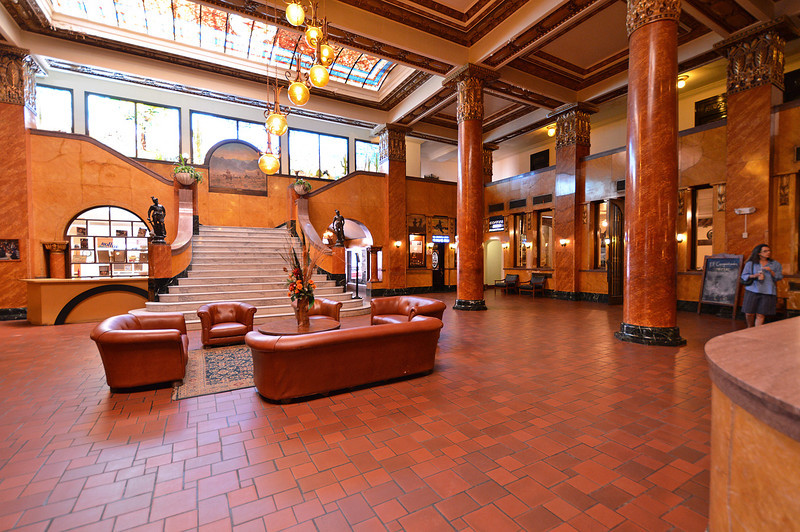 Inside the Gadsden Hotel, Douglas, AZ
