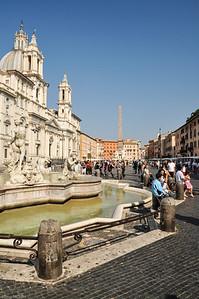 "Ebenfalls sehr beeindruckend ist der ""Piazza Navona"". / The ""Piazza Navona"" is very impressive as well."