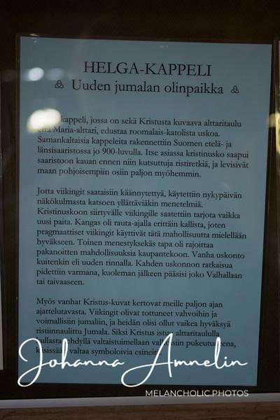 Rosalan viikinkikeskus, Hiittinen ja viikingit
